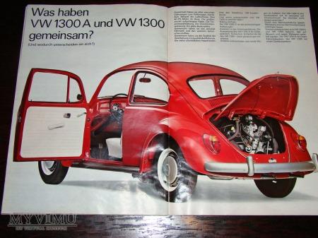 Prospekt VW 1300 (poczciwy Garbus)