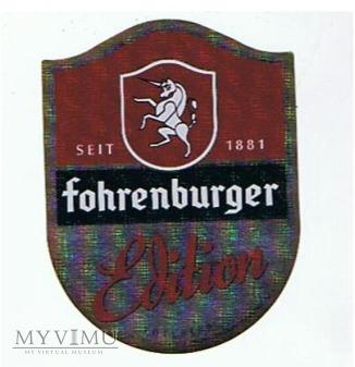 fohrenburger edition