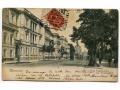 1904 Warszawa Aleje Ujazdowskie stara pocztówka