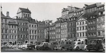 W-wa - Stare Miasto - Rynek - 1960-te