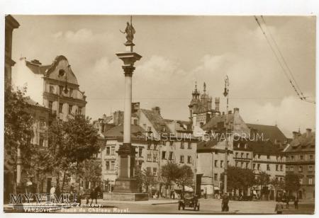 Warszawa - Plac Zamkowy - 1930-te