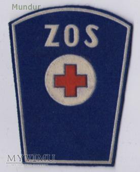 Dystynkcje ZOS służba medyczno-sanitarna