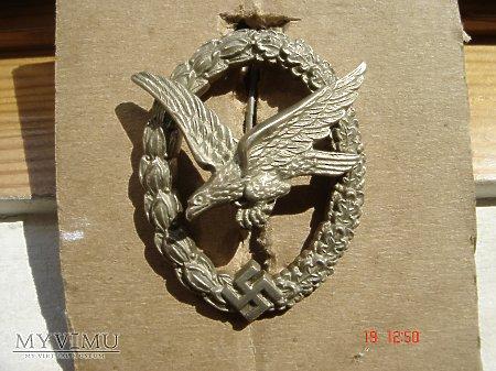 Luftwaffe Odznaka Strzelca,Mechanika Pokładowego