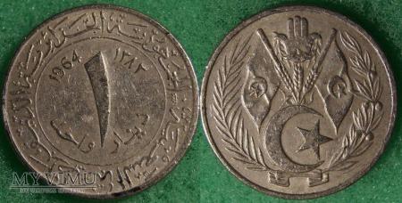 Algieria, 1 dinar 1964