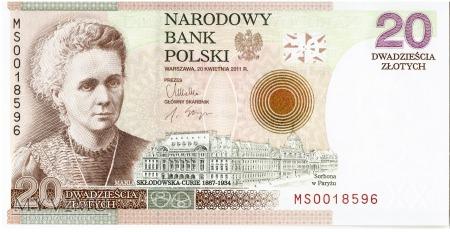 Polska - 20 złotych (2011)