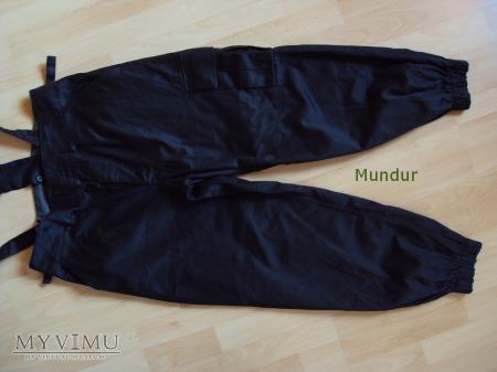 Spodnie czołgisty czarne WZ 601/MON RAFIO-2