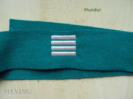 Zielony otok Straży Granicznej - plutonowy