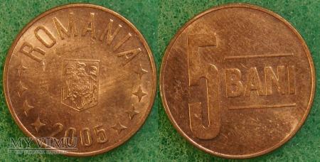 Rumunia, 5 Bani 2005