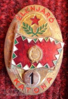 Odznaka; ELENJARO KATONA