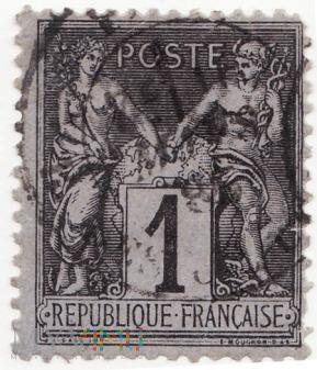 1876-1881 Francja POSTE