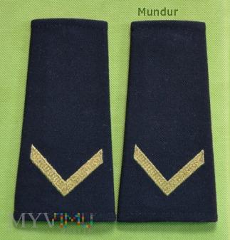Pochewki z oznaką stopnia-bosman Straży Granicznej