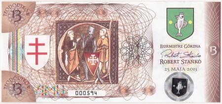 Polska (Górzno) - 13 teodoryków (2013)