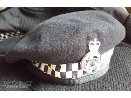 Beret brytyjskiego policjanta