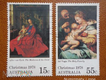 znaczki Australii rok 1978