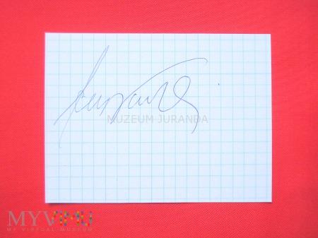 [*] Jerzy Kulej - autograf