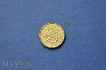Moneta: 10 euro cent - Finlandia