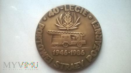 40 Lecie Portowej Straży Pożarnej w Gdańsku