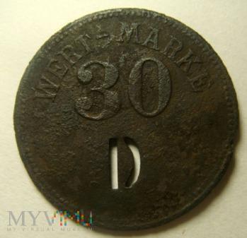 Moneta zastępcza 30 WERT-MARKE