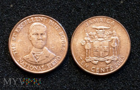 Jamajka, 10 CENTS 2003