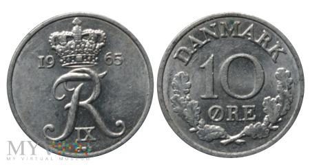 Dania, 10 Øre 1965