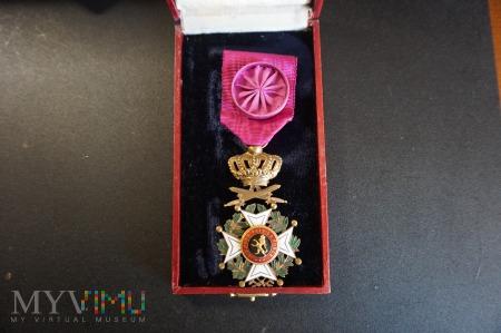 Duże zdjęcie Belgijski Order Leopolda - Wielkiego Oficera