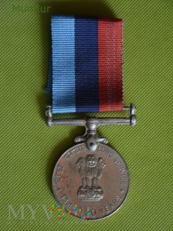 Indyjski medal: 20 years Long Service Medal