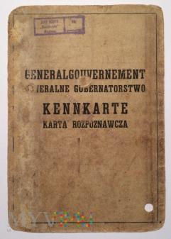 Kennkarte Generalgouvernement, Radom