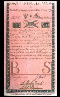 Sto złotych, 1794