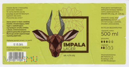 Perun, Impala