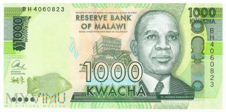 Malawi - 1 000 kwacha (2016)