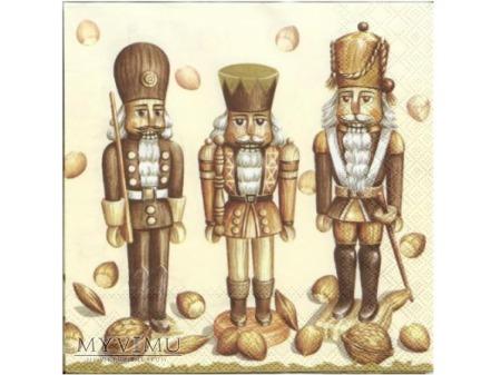 serwetka - Dziadek do orzechów