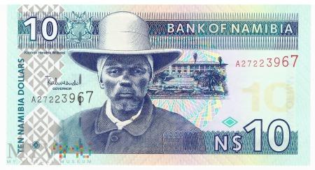 Namibia - 10 dolarów (2001)