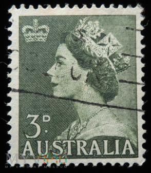 Australia 3 D Elżbieta II