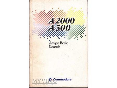 Duże zdjęcie AMIGA Basic, język niemiecki.