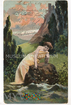 Tęsknota Smutek Opuszczona - 1904