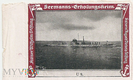 Germany WWI Navy Advertising - Reklamemarke
