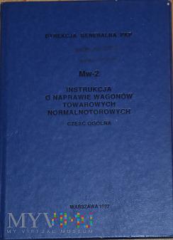 Mw2-1997 Instrukcja o naprawie wagonów towarowych