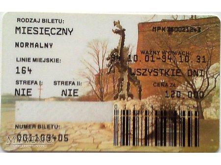 Bilet MPK Kraków 4