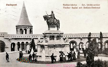 Duże zdjęcie Budapeszt - konny pomnik króla Węgier św. Stefana