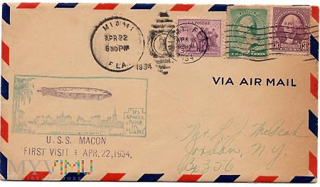 2.2a-USS Macon Sterowiec Pierwsza wizyta Cover Mia