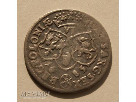 Szóstak m. Bydgoszcz 1683 rok