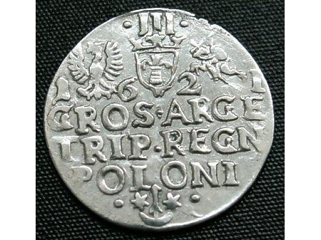 Trojak mennica Kraków- 1621 r