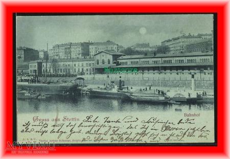 SZCZZECIN Stettin, Dworzec kolejowy