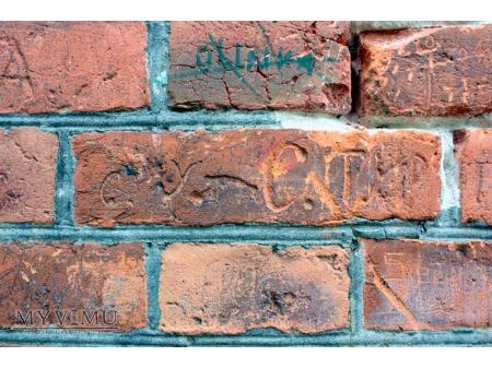 """""""Stara Prochownia"""" - budynek B - inskrypcja #008"""