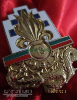 odznaka 13ème Demi-brigade de Légion étrangère