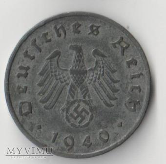 10 REICHSPFENNIG 1940 rok A