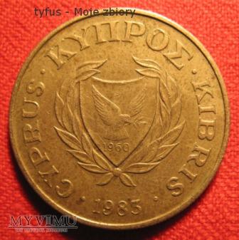 Duże zdjęcie 10 CENTS - Cypr (1983)