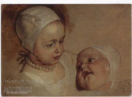 van Dyck - Księżna Elżbieta i Księżna Anna