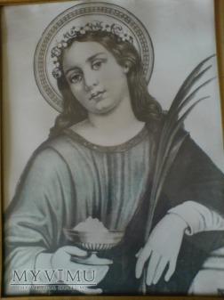 Święta Agata z Katanii.-kopia fotodruku.