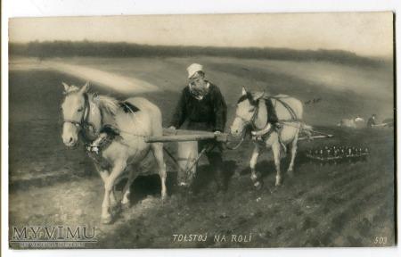 Ilya Yefimovich Repin Lew Leo Tolstoy Tołstoj